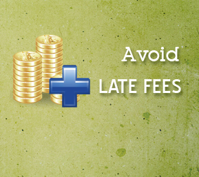 avoid late fees
