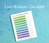 free website checklist