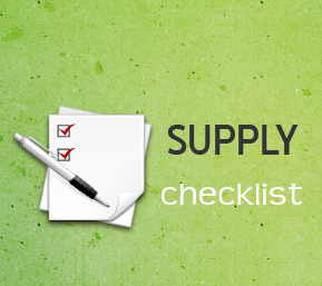 Office Supply Tip and Free Printable Checklist Template | 100 Simple ...