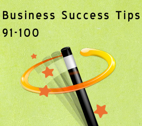 success tips 91-100