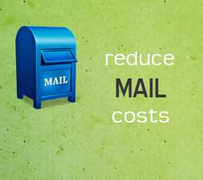 reduce mail costs