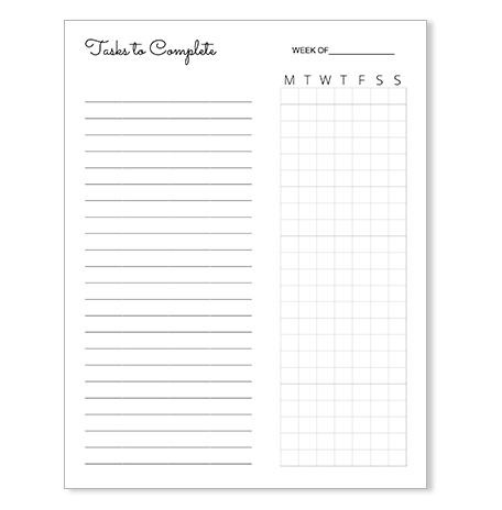 free-task-list-template