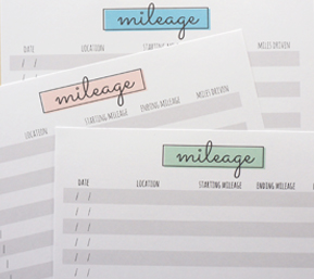 photograph relating to Printable Mileage Log referred to as Free of charge Printable Mileage Log 100 Very simple Guides